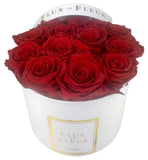 Infinity De Fleur™ Red Roses Round - Lasts One Years