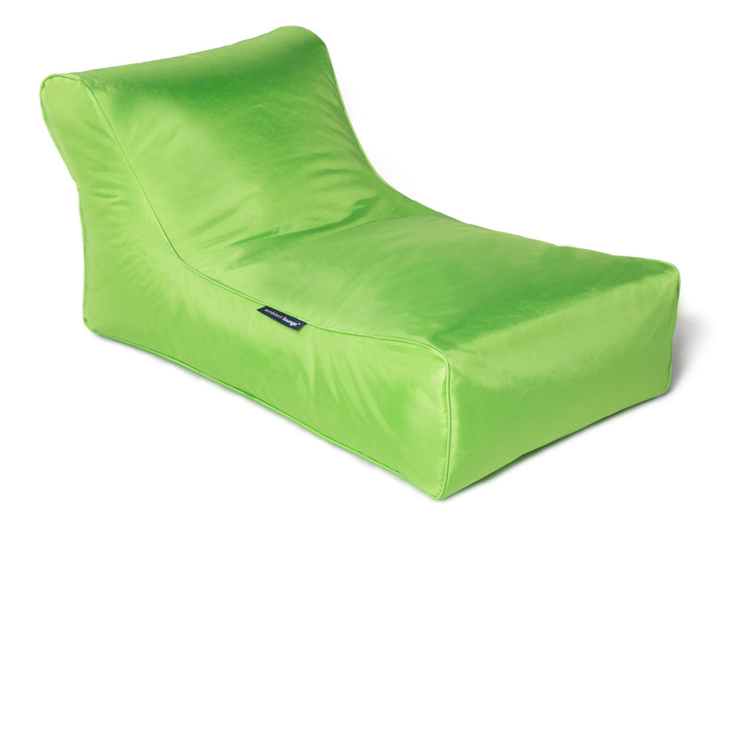 Green Chaise Lounge| Bean Bag Sofa|Green outdoor Bean Bag | Ambient ...