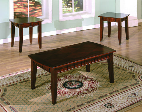 Espresso Coffee Table Set (CM4001)