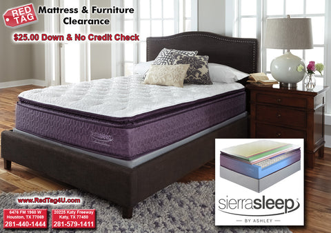 The New Sierra Sleep by Ashley Limited Edition Mattress
