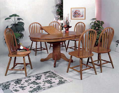 Butterfly Leaf Country Dining Set (CM1052)