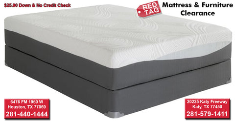 "12"" Corsicana Phase 3 Memory Foam with Gel Mattress"