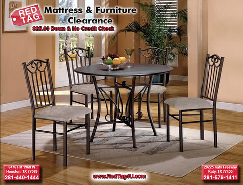 Hays 5 piece Dining Set (CM1223)