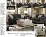 Ashley Alenya Charcoal Sofa & Loveseat (1660135-38)