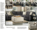 Ashley Alenya Charcoal Sectional (1660155-67)