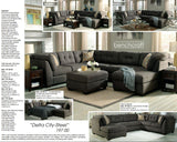 Ashley Delta City Sectional (1970038-34-17)