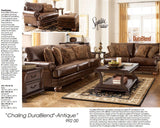 Ashley Antique Chaling Sofa and Loveseat (9920035-38)