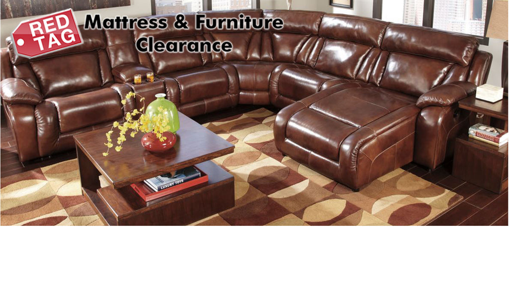 Red Tag Mattress and Furniture sells Ashley Furniture Directly