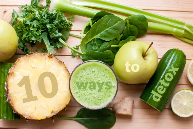 10 Easy Ways to Detoxify Daily