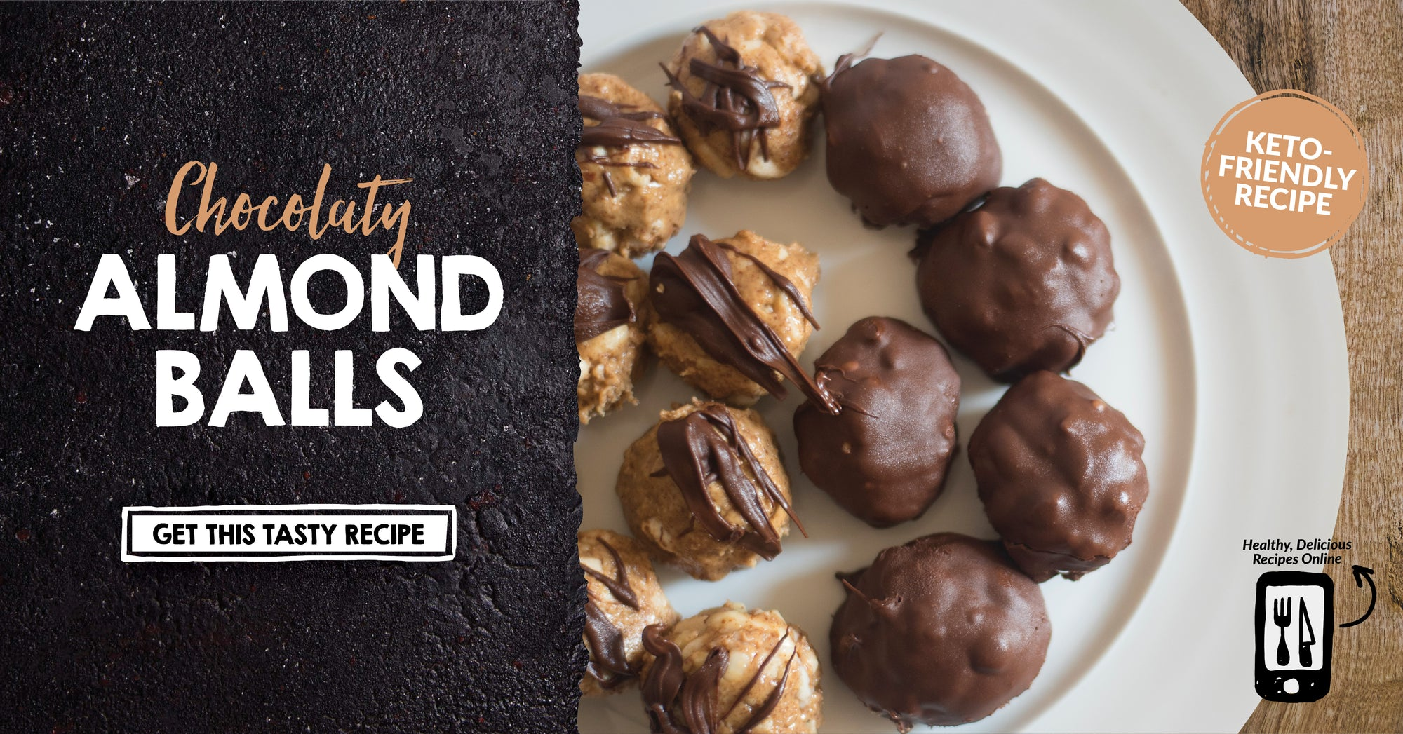 Chocolaty Almond Balls