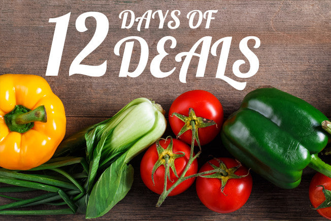 12 Days of Produce – A Different Deal Each Day!