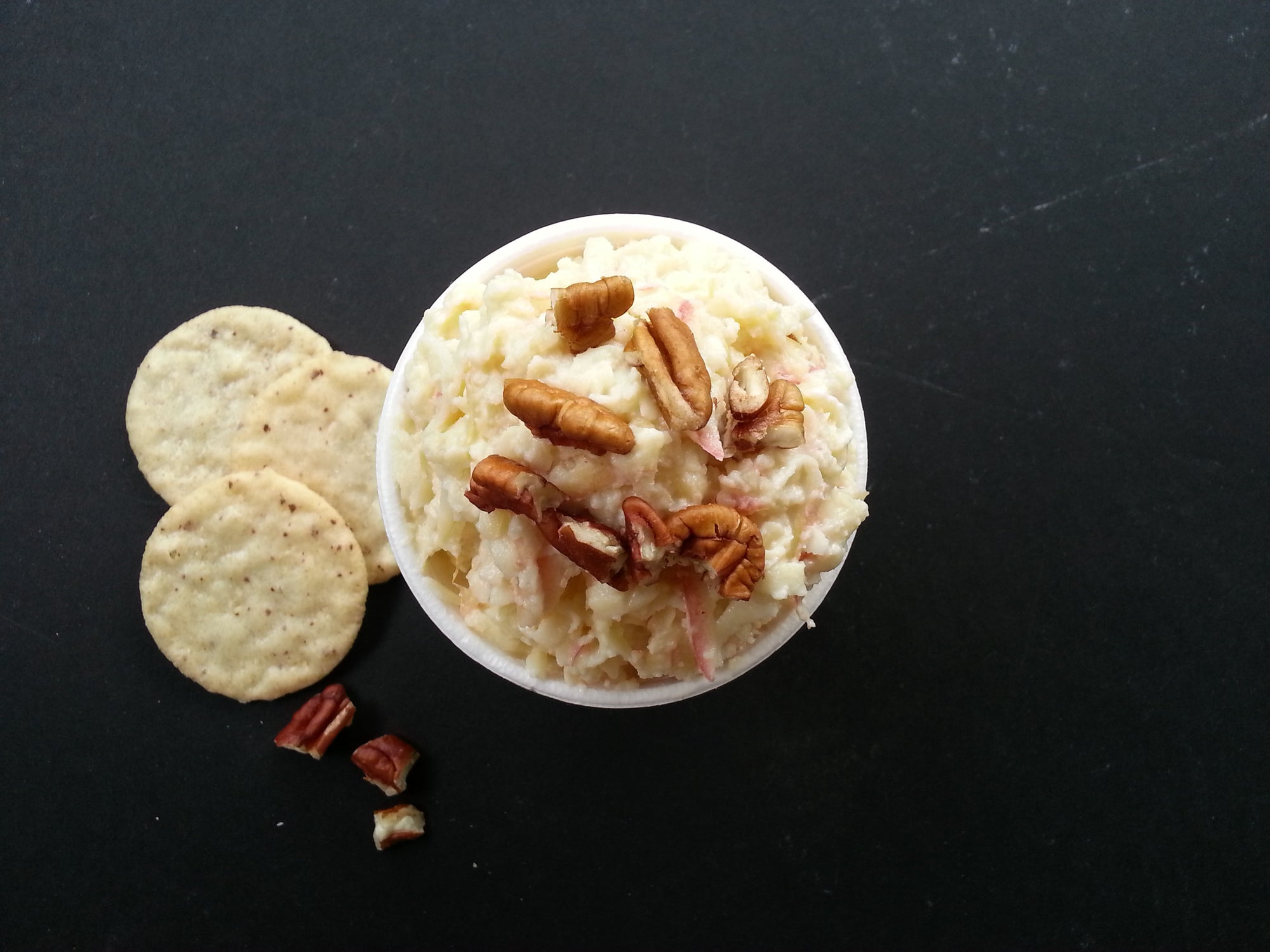 Apple & Goat Cheese Dip with Raw Milk Cheddar