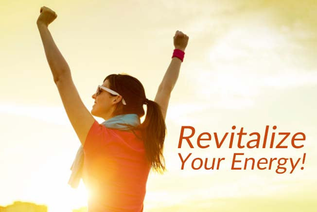 5 Ways to Revitalize Your Energy!