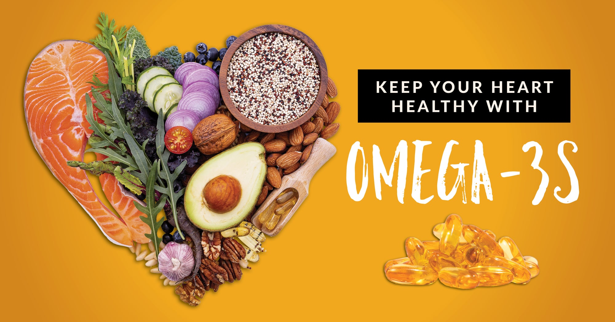 Keeping your heart healthy with omega-3s