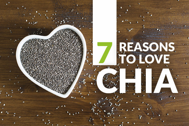 7 Reasons to Love Chia - PLUS 2 Recipes!