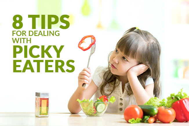 8 Tips for Dealing with Picky Eaters