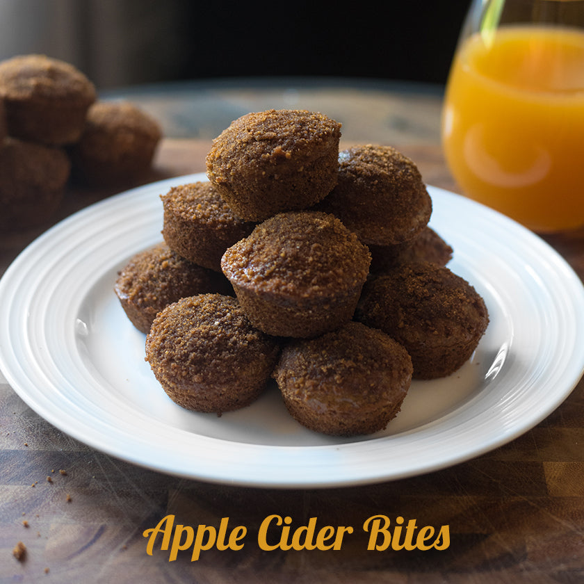 Apple Cider Muffin Bites