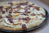 Apple, Bacon & Brie Pizza with Fresh Rosemary