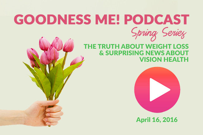April 16 Radio Podcast: The Truth About Weight Loss & Surprising News About Vision Health