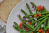 Asparagus Spring Salad with Apple Cider Vinegar Dressing