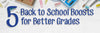5: Back to school boosts for better grades