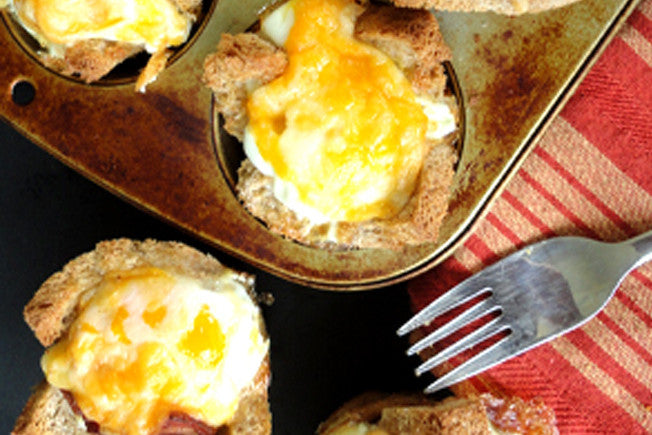 Quick & Easy Bacon and Egg Cups