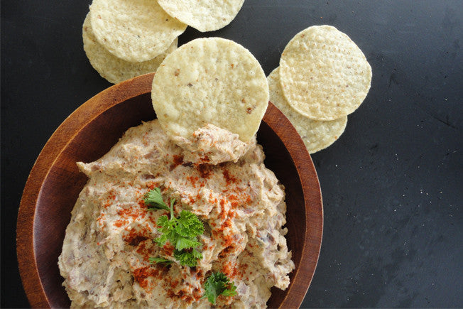 Tahini & Black Bean Hummus with Cumin