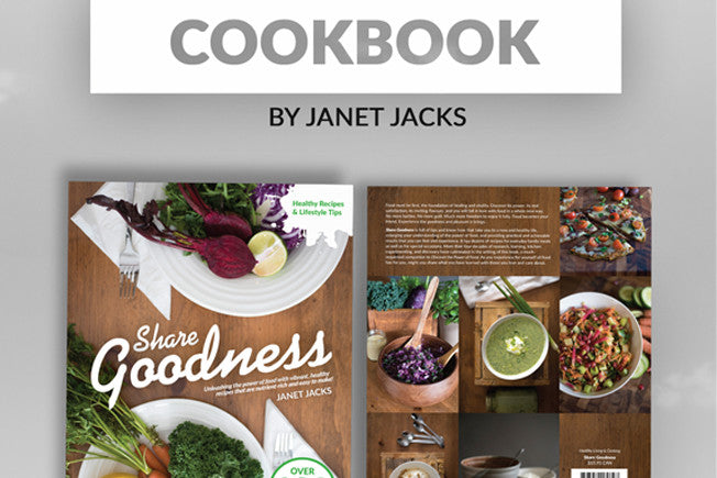 Brand New Cookbook by Janet Jacks!