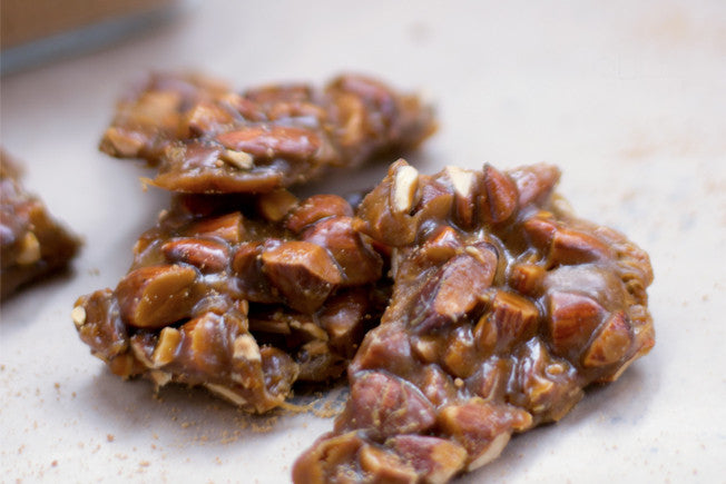 Gluten-Free Almond Brittle with coconut Sugar