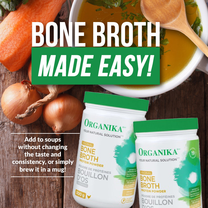 Organika Bone Broth: Your New Favourite Fall-Time Remedy
