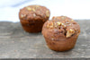 Cinnamon Swirl Coffee Cake Muffins with Walnuts