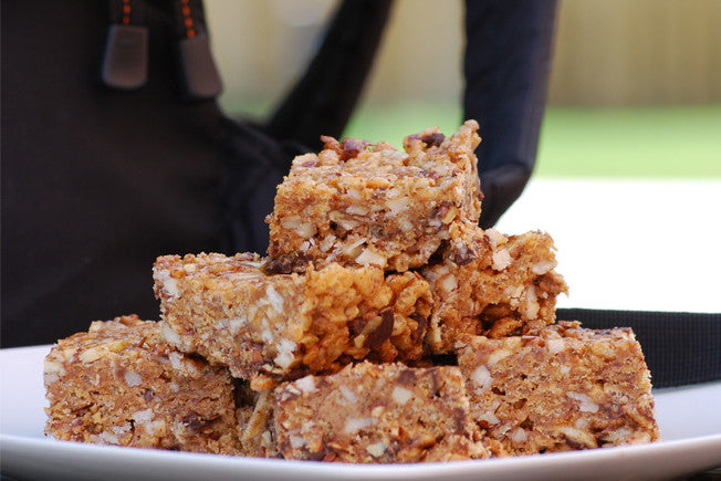 Gluten-Free Crunchy Almond & Oat Cereal Bars