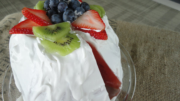 Refreshing Gluten-Free, Vegan Watermelon Cake