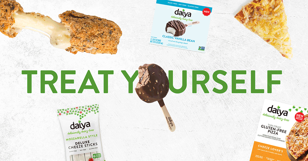 Treat Yourself - Dairy Free!