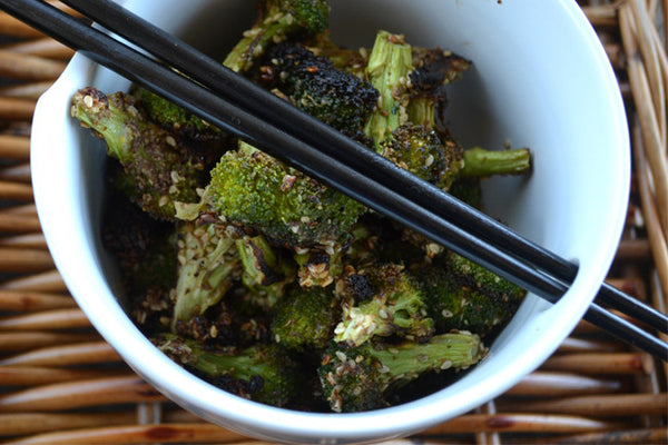 Detox-Friendly Crunchy Broccoli with Flax