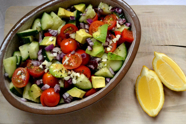 Detox Salad with Lemony Dressing