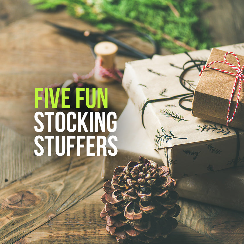 Giving Goodness: 5 Fun Stocking Stuffers!