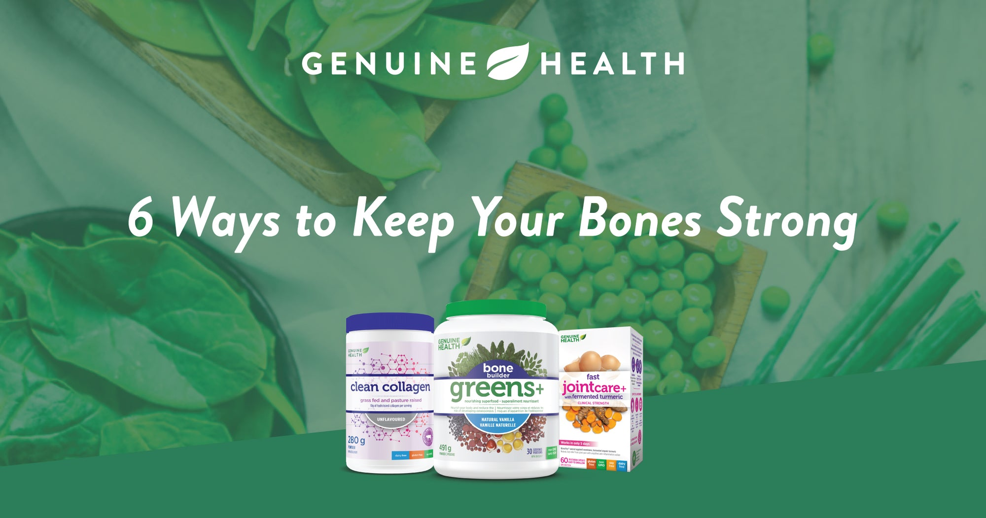 6 Ways to Keep Your Bones Strong