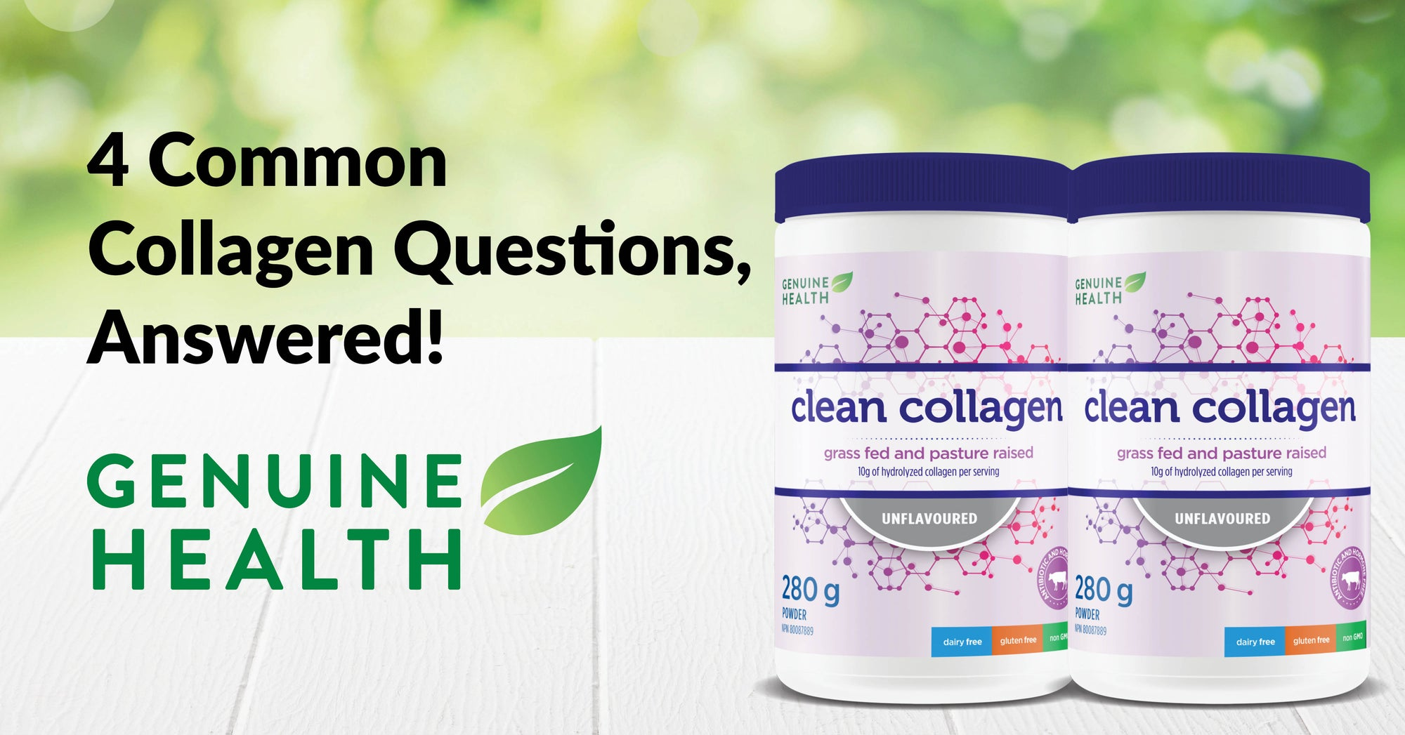 4 Common Collagen Questions Answered