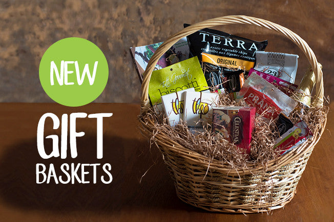 Healthy Holiday Gift Baskets