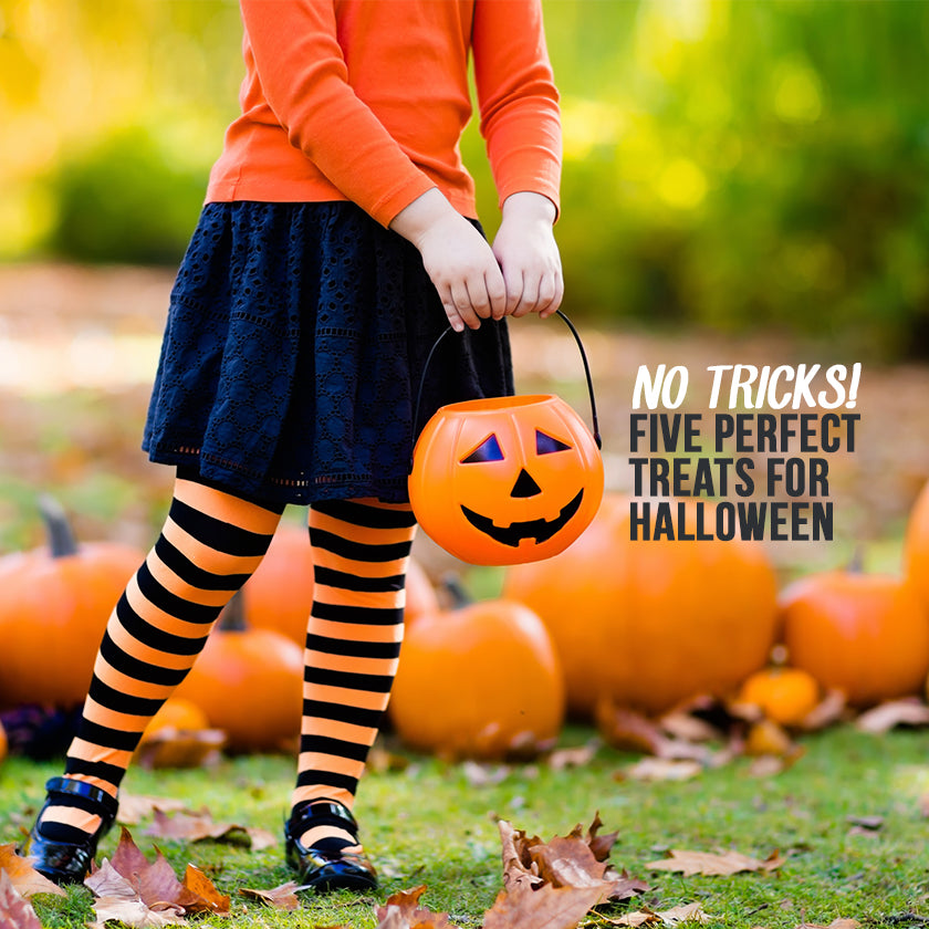 No Tricks: Five Perfect Treats For Halloween