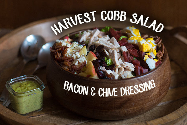 Harvest Cob Salad - Bacon & Chive Dressing
