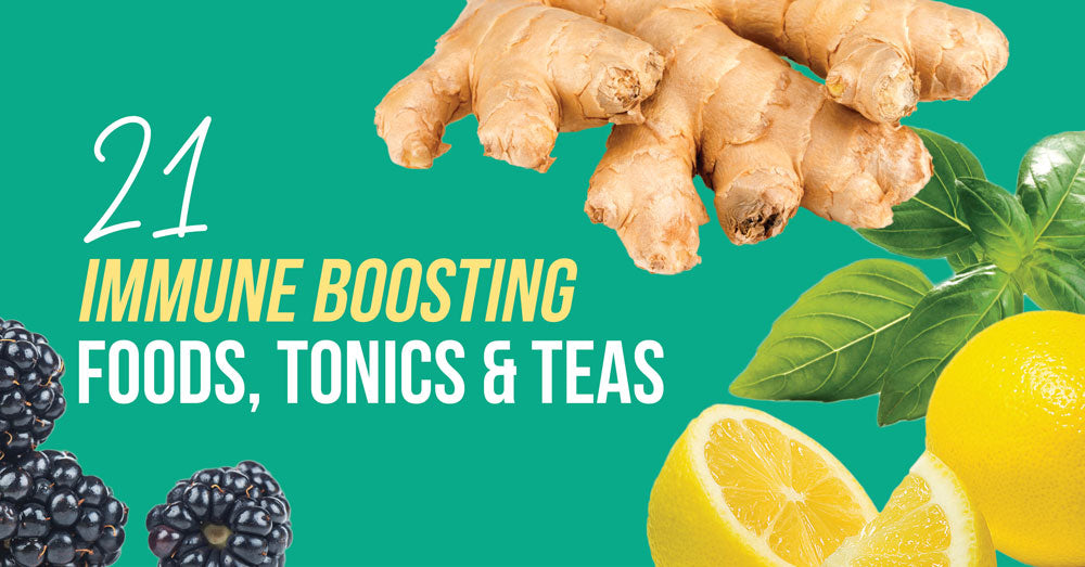 21 Immune Boosting Foods, Tonics & Teas  - Goodness Me!