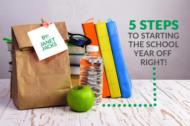 Janet's 5 Surprising Tips for a Successful September