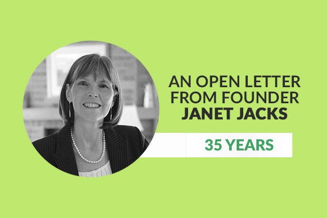 Janet Jacks: Thanks YOU for 35 Years!