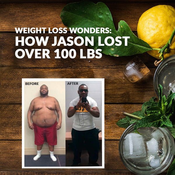 Weight Loss Wonders: How Jason Lost Over 100 Pounds