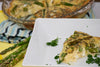 Leek and Asparagus Frittata with Feta