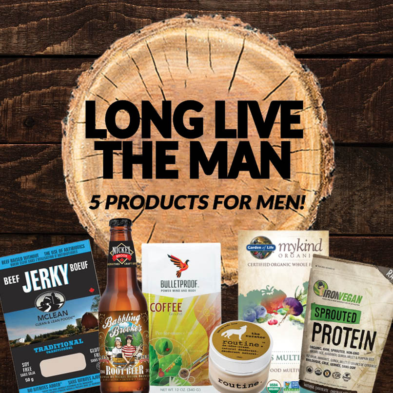 Long Live The Man: Five Great Products For Men!