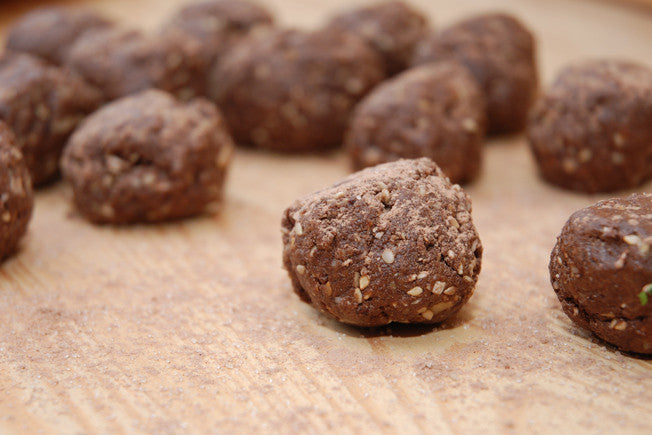 Protein-Packed Nut Butter Power Balls