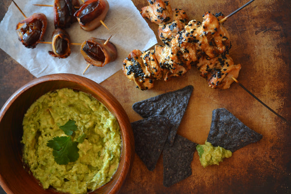 The Best Guacamole with Garlic & Cilantro
